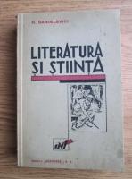 H. Sanielevici - Literatura si stiinta (1930)