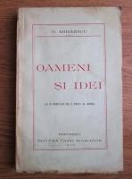 N. Mihaescu - Oameni si idei (1937)