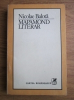 Anticariat: Nicolae Balota - Mapamond literar