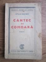Anticariat: Otilia Cazimir - Cantec de comoara. Poezii (editie interbelica)
