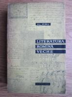 Alexandru Piru - Literatura romana veche