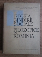 Anticariat: C.I. Gulian - Istoria gandirii sociale si filozofice in Romania