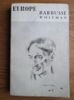 Anticariat: Europe, Nr. 119-120, Nov-Dec 1955: Barbusse Whitman