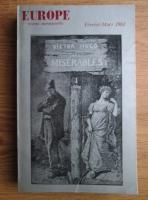 Europe, Nr. 394-395, Fevrier-Mars 1962: Les Miserables