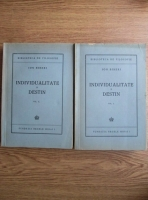 Anticariat: Ion Biberi - Individualitate si destin (2 volume, 1945)