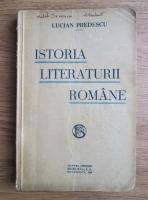 Lucian Predescu - Istoria literaturii romane (1936)