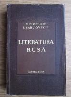 Anticariat: N. Pospelov - Literatura rusa