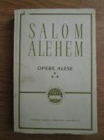Anticariat: Salom Alehem - Opere alese (volumul 3)