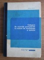 Anticariat: Stefania Popescu - Culegere de exercitii gramaticale cu notiuni de morfologie si sintaxa