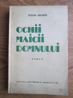 Anticariat: Tudor Arghezi - Ochii Maicii Domnului (Prima editie, 1934)