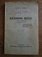 Petre V. Hanes - Alexandru Russo (1930)