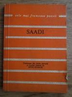 Saadi - Cele mai frumoase poezii