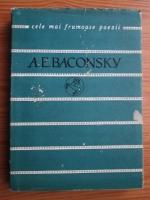 Anticariat: Anatol Eftimie Baconsky - Versuri (Colectia Cele mai frumoase poezii)