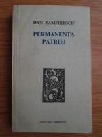Anticariat: Dan Zamfirescu - Permanenta patriei