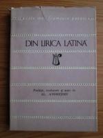 Din lirica latina (Colectia Cele mai frumoase poezii)