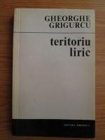Anticariat: Gheorghe Grigurcu - Teritoriu liric