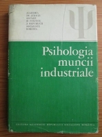 Gheorghe Iosif - Psihologia muncii industriale