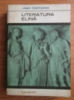 Anticariat: Jean Defradas - Literatura elina