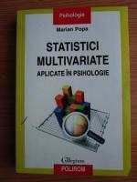 Marian Popa - Statistici multivariate aplicate in psihologie