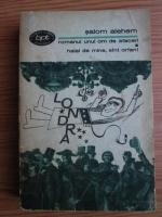 Anticariat: Salom Alehem - Romanul unui om de afaceri. Halal de mine, sunt orfan!