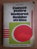 Anticariat: Simion Morarescu - Cantece pentru invatarea limbilor straine
