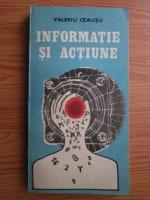 Valeriu Ceausu - Informatie si actiune