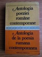 Anticariat: Antologia poeziei romane contemporane. Antologia de la  poesia rumana contemporanea