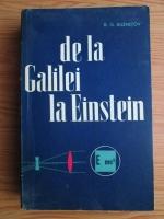 B. G. Kuznetov - De la Galilei la Einstein