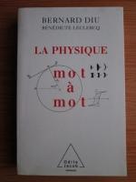 Bernard Diu - La physique mot a mot