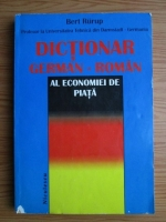 Bert Rurup - Dictionar german-roman al economiei de piata