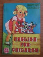 Anticariat: Cristina Ionescu - English for children