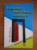 Anticariat: Dan Smantanescu - Amintiri din lumea cealalta