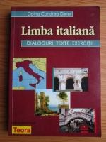 Anticariat: Doina Condrea Derer - Limba italiana. Dialoguri, texte, exercitii