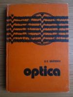 Anticariat: G. G. Bratescu - Optica