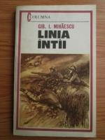 Anticariat: Gib I. Mihaescu - Linia intai