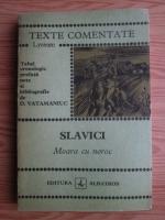 Ioan Slavici - Moara cu noroc (texte comentate)