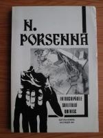 N. Porsenna - Intruchiparile sufletului omenesc