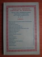 Anticariat: Revista Marturie ortodoxa iubitoare de Dumnezeu (anul 13, caietul 53)