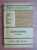 Vasile Alecsandri - Pasteluri (texte comentate)