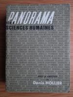 Anticariat: Denis Hollier - Panorama des sciences humaines
