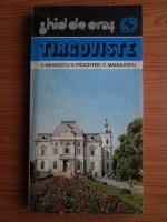 Anticariat: G. Mihaescu - Ghid de oras. Targoviste