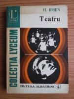 Anticariat: Henrik Ibsen - Teatru
