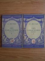 Anticariat: La Bruyere - Les Caracteres. Extraits (2 volume, 1934)