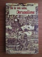 Anticariat: Marin Bucur - De te voi uita, Ierusalime