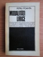 Anticariat: Petru Poanta - Modalitati lirice contemporane