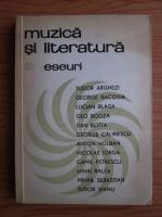Anticariat: Emil Manu - Muzica si literatura. Eseuri