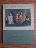 Anticariat: Iulius Bielz - Arta aurarilor sasi din Transilvania