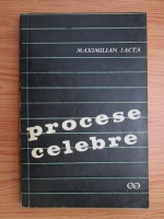Anticariat: Maximilian Jacta - Procese celebre