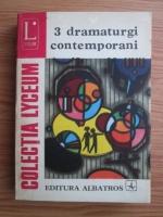 Anticariat: 3 dramaturgi contemporani