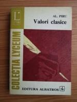 Anticariat: Al. Piru - Valori clasice